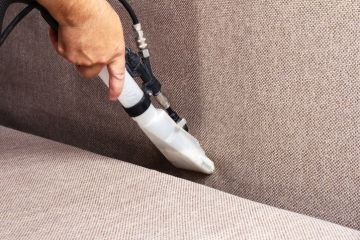 Sofa Cleaning by Praise Cleaning Services